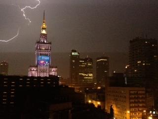 EURO2012 Lightening Storm